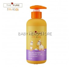 BabyHero - The Pure I'm Kids Silky 2 In 1 Shampoo 300ml
