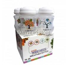 Milk Planet Premium Wide Neck Breastmilk Storage Bottle 4pcs (5oz/150ml)