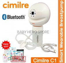 Cimilre C1 Smart Wearable Breast Pump SINGLE (Warranty by GMTA ASIA)