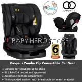 Baby Hero - Koopers Zumba Zip Convertible Car Seat (0-36kg)