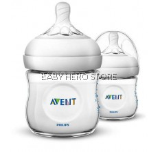 Avent Natural Bottle 4oz/125ml - Twin Pack (SCF690/23)