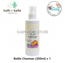 Kath + Belle Safe Clean Bottle Cleanser (250ml)