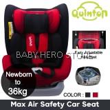 Quinton Max Air Safety Car Seat (Newborn to 36kg)