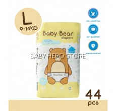 Baby Bear Tape Diapers Size L (44pcs)