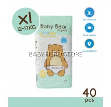 Baby Bear Tape Diapers Size XL (40pcs)