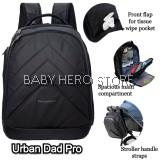 Princeton Urban Dad Pro Baby Diaper Bag - Black