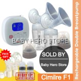 Cimilre F1 Rechargeable Double Breastpump with Cimilre Handsfree Cup