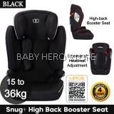 Koopers Snug+ High Back Booster Seat (15-36kg)