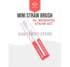 Grosmimi - Mini Straw Brush / Straw Brush / Baby Bottle Foam Brush Set