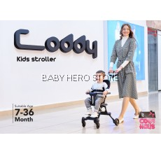 Coby Coddy Kids Stroller - suitable from 7-36 Months