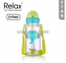 Relax Tritan Kids Water Bottle - D7640 (400ml) / D7655 (550ml)