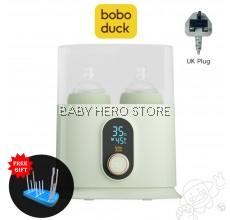 Boboduck Malaysia 5 in 1 Double Baby Milk Feeding Bottle Warmer & Sterilizer
