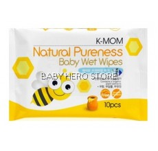 K-Mom - Basic Pocket Wet Tissue (10pcs)