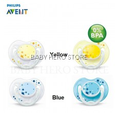 Philips Avent Soother Night Time (0-6 Month)