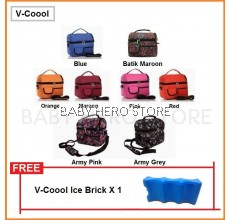 V-Coool - Cooler Bag + Ice Brick