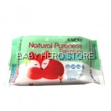 K-Mom Natural Pureness Premium Baby Wet Wipes Embo (20pcs)