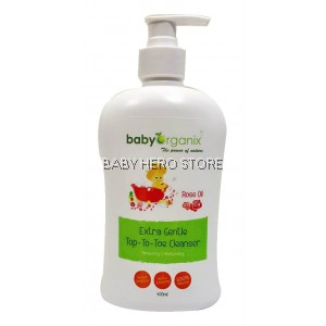 Baby Organix - Extra Gentle Top To Toe Cleanser (400ml)