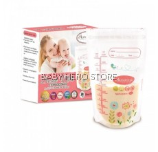 Autumnz - Double ZipLock Breastmilk Storage Bag (28 bags) - 12oz