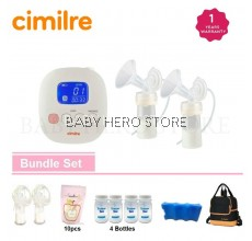 Cimilre F1 Rechargeable Double Breastpump Package A