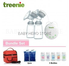 Treenie Kompakto Electric Double Breastpump (Package A)