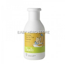 Buds Organics Everyday Baby Head to Toe Cleanser (225ml)