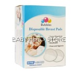 Bubbles Disposable Breast pads 60+12