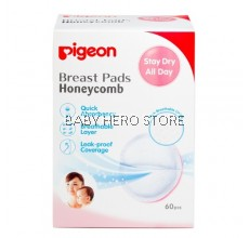 Pigeon - Breast Pads Honeycomb 60pcs