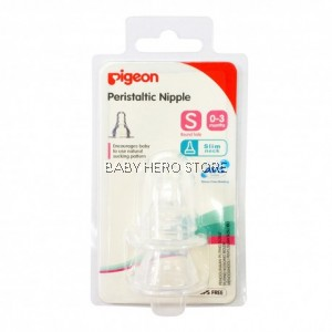 Pigeon Peristaltic Slim Neck Nipple