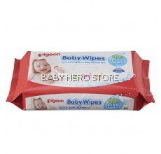 Pigeon Baby Wipes 99% Pure Water, 82's (6in1)