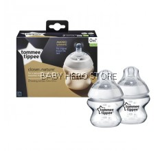 Tommee Tippee Closer To Nature Bottle 150ml - Twin Pack