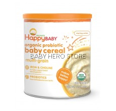 Happy Baby Organic Probiotic Baby Cereal ( Multi-Grain )