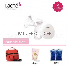 Lacte - Solo Electric Breastpump Package (Breastfeeding Promotion)