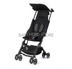 GB Pockit+ Plus Stroller - MONUMENT BLACK