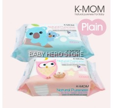 K-Mom - Organic Basic Wipes (100pcs) - 2 Packs