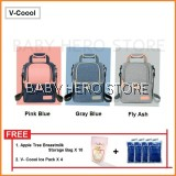 V-Coool Luxury Edition Double Deck Cooler Bag Package
