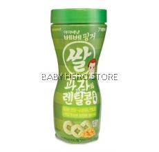 Ivenet Bebe Finger Rice Snack With Lentil 30g - Green