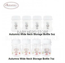 Autumnz Wide Neck Breast Milk Storage Bottle (4 bottles)