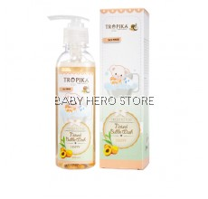 Tropika Natural Bubble Wash Happy - 230ml (100% Original)