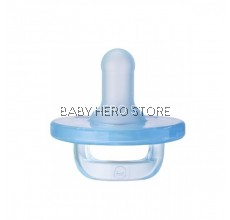 Piyo Piyo - Silicone Soother Pacifier with Cover - Blue