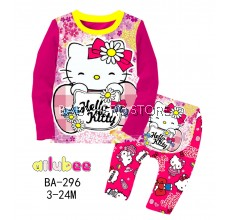 Ailubee Baby Pyjamas - Hello Kitty L1 (3-24M)