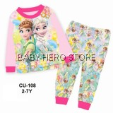 Cuddle Me Baby Pyjamas - Frozen L1 (2-7Y)