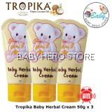 Tropika Baby Herbal Cream 50g (100% Original) - 3 Packs
