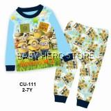 Cuddle Me Baby Pyjamas - Minions L1 (2-7Y)