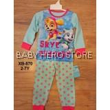 Caluby Baby Pyjamas - Paw Patrol L2 (2-7Y)