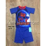 Caluby Baby Pyjamas - Spider Man S1 (2-7Y)
