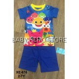 Caluby Baby Pyjamas - Baby Shark Doo Doo S1 (2-7Y)