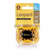 Simba Leopard Thumb Shaped Pacifier (6M+)