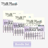 Milk Planet - Breast Milk Storage Bag 5oz (25 Pieces) - 3 Packs
