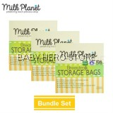 Milk Planet - Breast Milk Storage Bag 7oz (25 Pieces) - 3 Packs