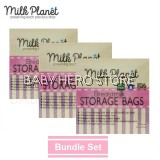 Milk Planet - Breast Milk Storage Bag 12oz (25 Pieces) - 3 Packs